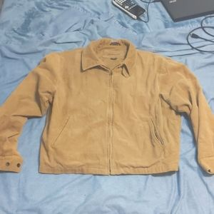 St. John's Bay Tan Corduroy Jacket XL regular
